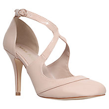 Buy Miss KG Natalie Stiletto Heeled Court Shoes, Nude Patent Online at johnlewis.com