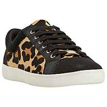Buy Dune Edgware Mixed Material Round Toe Trainers Online at johnlewis.com