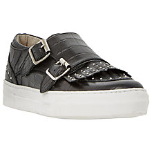 Buy Dune Ervyn Buckle Flatform Trainers Online at johnlewis.com