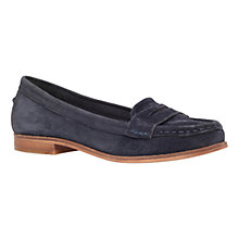 Buy Miss KG Mallori Slip On Loafers, Navy Suede Online at johnlewis.com