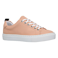 Buy KG by Kurt Geiger Lava Lace Up Trainers, Nude Online at johnlewis.com