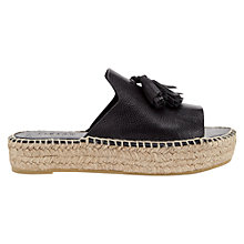 Buy Jigsaw Lorna Slip On Espadrille Sandals Online at johnlewis.com