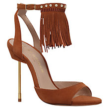 Buy Kurt Geiger Barley Tassel Stiletto Sandals Online at johnlewis.com
