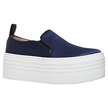 Buy KG by Kurt Geiger Logan Flatform Slip On Trainers Online at johnlewis.com