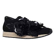Buy Kurt Geiger Langham Suede Sports Shoes, Black Online at johnlewis.com