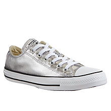 Buy Converse Chuck Taylor All Star Ox Metallic Trainers Online at johnlewis.com