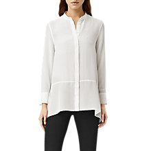Buy AllSaints Isha Long Sleeve Shirt Online at johnlewis.com