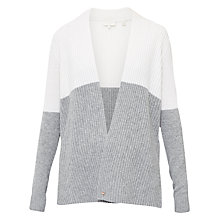 Buy Ted Baker Olivii Cashmere Colour Block Wrap Cardigan Online at johnlewis.com