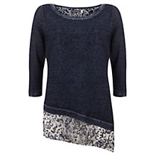 Buy Mint Velvet Asymmetric Layered Knit Jumper, Multi Online at johnlewis.com