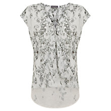 Buy Mint Velvet Maia Print Wrap Top, Multi Online at johnlewis.com
