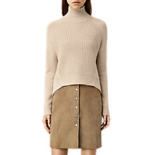 Buy AllSaints Galo Funnel Neck Jumper Online at johnlewis.com