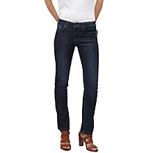 Buy Jigsaw Windsor Straight Jeans, Indigo Online at johnlewis.com