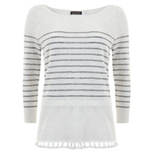 Buy Mint Velvet Swing Tassel Hem Jumper, Multi Online at johnlewis.com