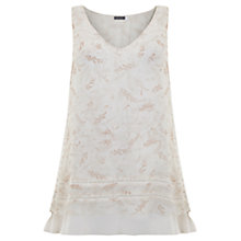 Buy Mint Velvet Poppy Print Tassel Top, Multi Online at johnlewis.com