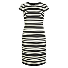Buy Hobbs Andara Dress, Black Pottery Online at johnlewis.com