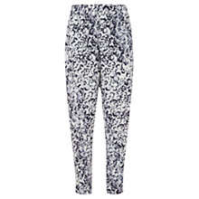 Buy Mint Velvet Essence Print Tapered Trousers, Multi Online at johnlewis.com