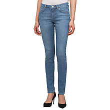 Buy Jigsaw Richmond 32 Skinny Jeans, Mid-Blue Online at johnlewis.com