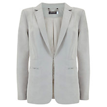 Buy Mint Velvet Easy Boyfriend Blazer, Chalk White Online at johnlewis.com