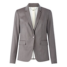 Buy Jigsaw London Herringbone Jacket, Fawn Online at johnlewis.com
