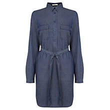 Buy Oasis Gemma Shirt Dress, Denim Online at johnlewis.com