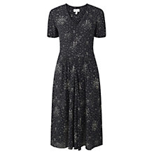 Buy Jigsaw Square Spot Dress, Navy Online at johnlewis.com