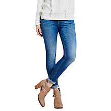 Buy Mint Velvet Rayleigh Light Wash Skinny Jeans, Blue Online at johnlewis.com