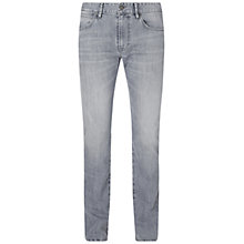 Buy BOSS Orange Barcelona Denim Jeans, Medium Grey Online at johnlewis.com
