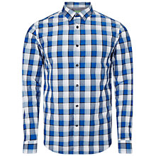 Buy BOSS Green Bopaz Shirt, Navy Online at johnlewis.com