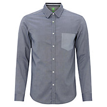 Buy BOSS Green Baloyo Shirt, Navy Online at johnlewis.com