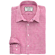 Buy Thomas Pink Travers Check Classic Fit Linen Shirt Online at johnlewis.com