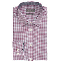 Buy John Lewis Non Iron Gingham Regular Fit Shirt Online at johnlewis.com