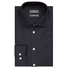 Buy John Lewis Non Iron Semi Plain Tailored Fit Shirt, Slate Online at johnlewis.com