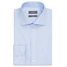 Buy John Lewis Non Iron Cotton Dobby Tailored Fit Shirt Online at johnlewis.com