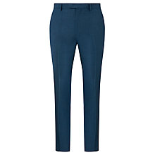 Buy Kin by John Lewis Tyler Slim Fit Suit Trousers, Teal Online at johnlewis.com
