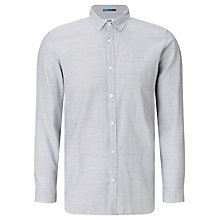 Buy Kin by John Lewis Horizontal Tick Shirt, White Online at johnlewis.com