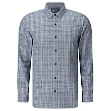 Buy JOHN LEWIS & Co. Grindle Check Shirt, Indigo Online at johnlewis.com