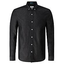Buy Kin by John Lewis Denim Shirt, Black Online at johnlewis.com