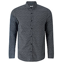 Buy Kin by John Lewis Letter Print Shirt, Black Online at johnlewis.com