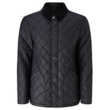 Buy JOHN LEWIS & Co. Waxed Cotton Quilted Jacket Online at johnlewis.com