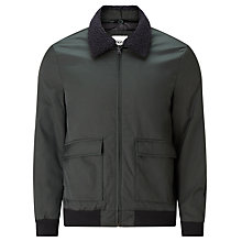 Buy Kin by John Lewis Flight Jacket, Khaki Online at johnlewis.com