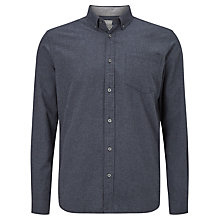 Buy John Lewis Melange Flannel Cotton Shirt Online at johnlewis.com