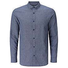Buy JOHN LEWIS & Co. Grindle Houndstooth Check Shirt, Indigo Online at johnlewis.com