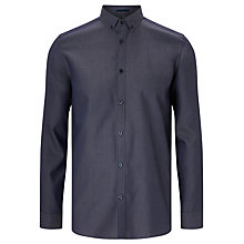 Buy Kin by John Lewis Pin Dot Chambray Shirt Online at johnlewis.com