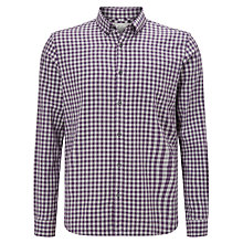 Buy John Lewis Gingham Melange Check Shirt Online at johnlewis.com
