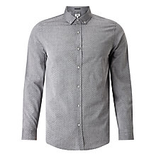 Buy Kin by John Lewis Polka Dot Chambray Shirt, Navy Online at johnlewis.com