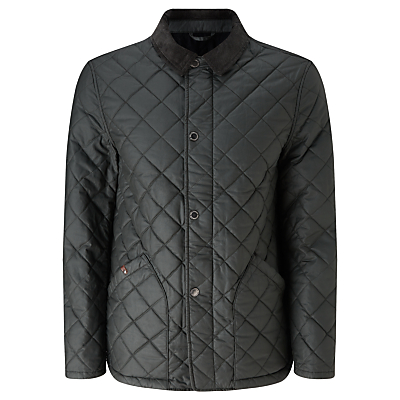 Image of JOHN LEWIS & Co. Waxed Cotton Quilted Jacket