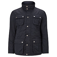 Buy John Lewis Technical Nylon Four Pocket 2 in 1 Jacket, Navy Online at johnlewis.com