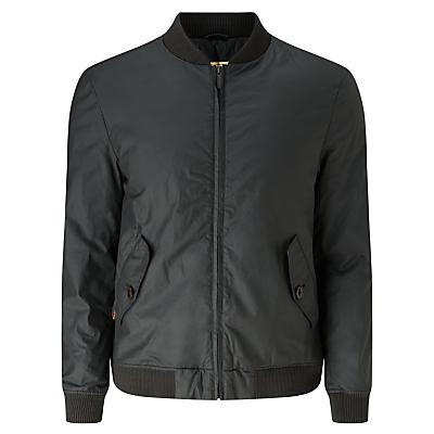 Image of JOHN LEWIS & Co. Waxed Cotton Bomber Jacket