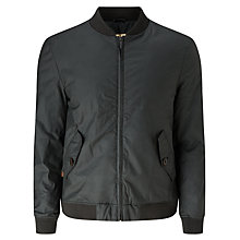 Buy JOHN LEWIS & Co. Waxed Cotton Bomber Jacket Online at johnlewis.com