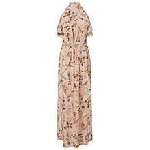 Buy Miss Selfridge Printed Ruffle Maxi Dress, Multi Online at johnlewis.com